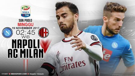 Susunan Pemain Napoli vs AC Milan. - INDOSPORT