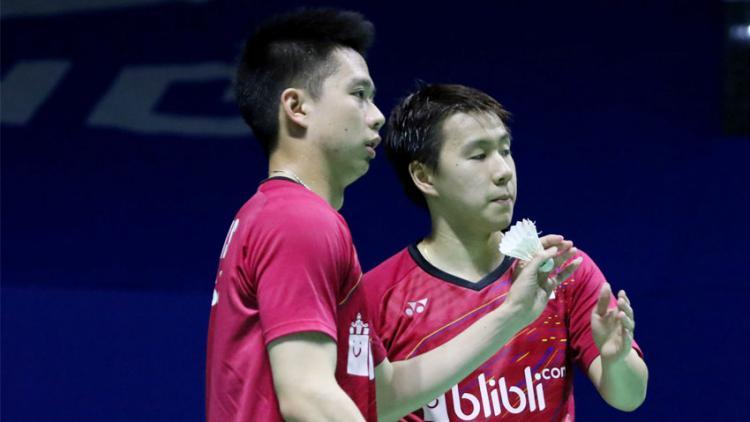 Kevin Sanjaya Sukamuljo dan Marcus Fernaldi Gideon Copyright: badmintonindonesia.org