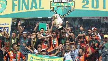 Borneo FC saat menjuarai Piala Gubernur Kaltim 2016. - INDOSPORT