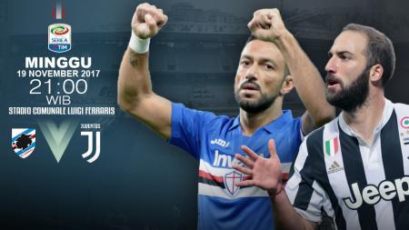 Sampdoria vs Juventus - INDOSPORT