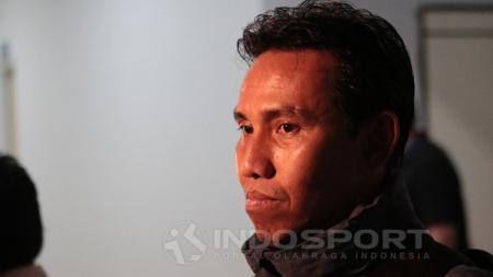 Asisten pelatih Timnas Indonesia, Bima Sakti. - INDOSPORT