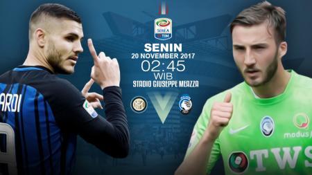 Susunan pemain Inter vs Atalanta. - INDOSPORT