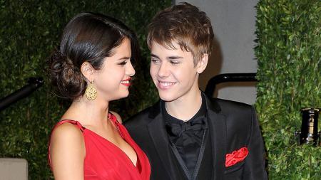 Justin Bieber dna Selena Gomez. - INDOSPORT