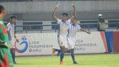 Indosport - Selebrasi pemain PSIS Semarang.