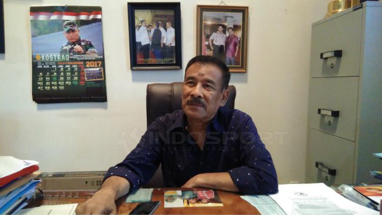 Manajer Persib Bandung, Umuh Muchtar. Copyright: Gita Agiet/INDOSPORT