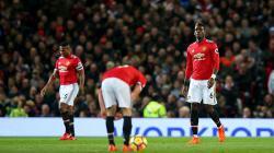 Paul Pogba mencetak satu gol ke gawang Newcastle United.