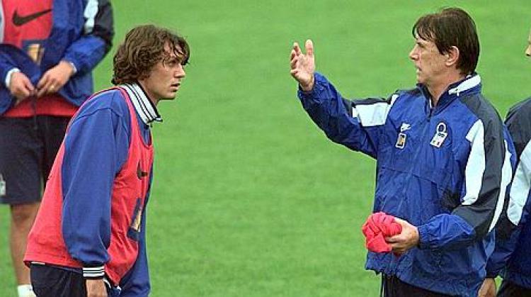 Cesare Maldini & Paolo Maldini Copyright: La Gazzetta dello Sport