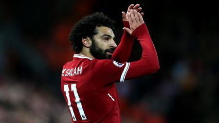 Pemain Liverpool, Mohamed Salah. - INDOSPORT
