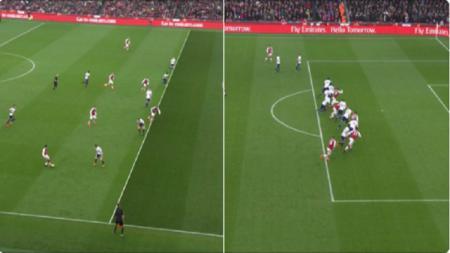 Dua gol Arsenal berbau offside - INDOSPORT