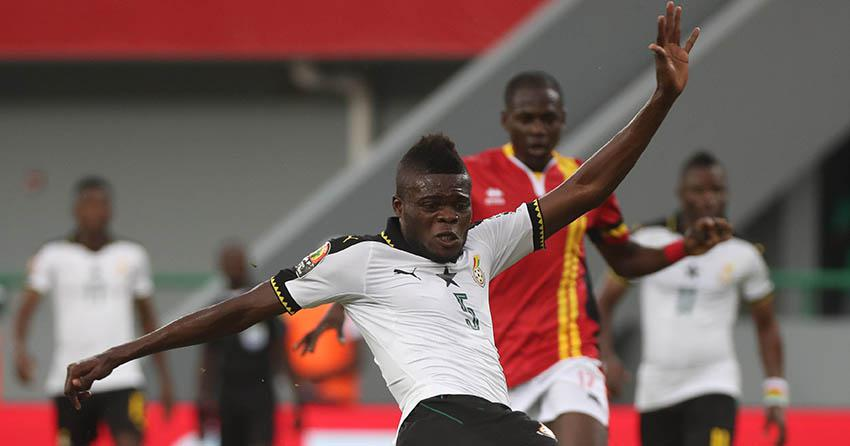 Thomas Partey ketika berseragam Timnas Ghana Copyright: Internet