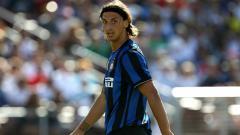 Indosport - Zlatan Ibrahimovic saat masih membela Inter Milan