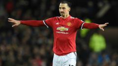 Indosport - Zlatan Ibrahimovic saat kembali bermain untuk Manchester United.