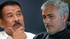 Indosport - Umuh Muchtar-Jose Mourinho.