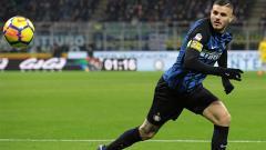 Indosport - Inter Milan sukses taklukkan Atalanta berkat sumbangan 2 gol Mauro Icardi.