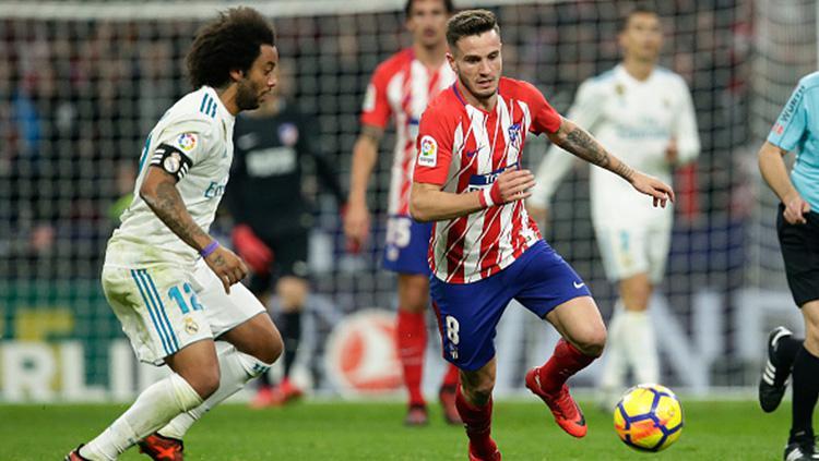Atletico Madrid vs Real Madrid. Copyright: INDOSPORT