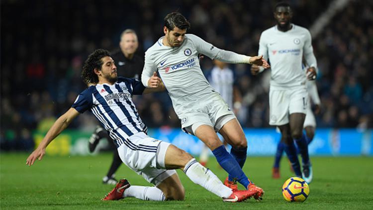 West Bromwich Albion vs Chelsea. Copyright: INDOSPORT