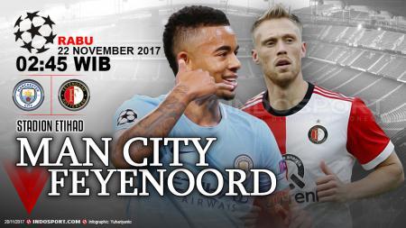 Prediksi Manchester City vs Feyenoord - INDOSPORT