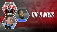 Indosport - Top 5 News