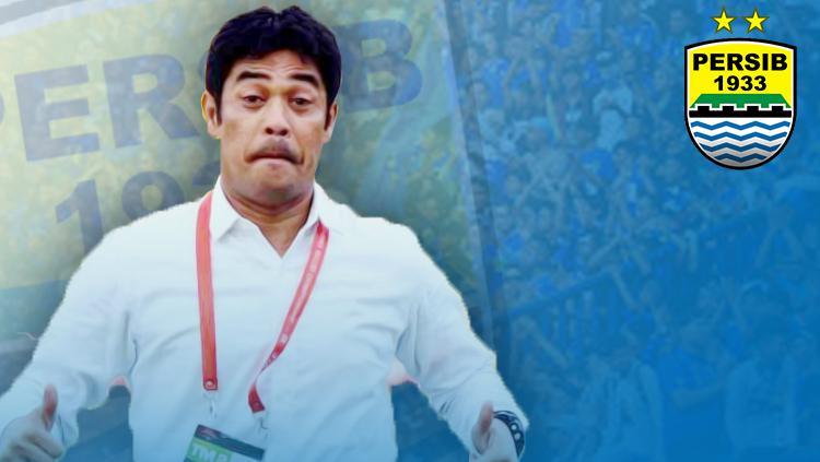 Eks pelatih Semen Padang masuk kandidat pelatih Persib. Copyright: Grafis: Eli Suhaeli/INDOSPORT