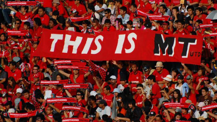 Suporter Muangthong United Copyright: Jakarta Casual