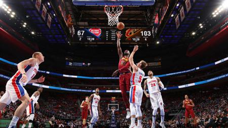 Cleveland Cavaliers vs Detroit Pistons. - INDOSPORT