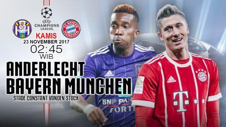 Prediksi Anderlecht vs Bayern Munchen. - INDOSPORT