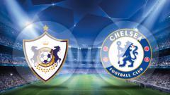 Indosport - Battle WAGs Qarabag vs Chelsea.