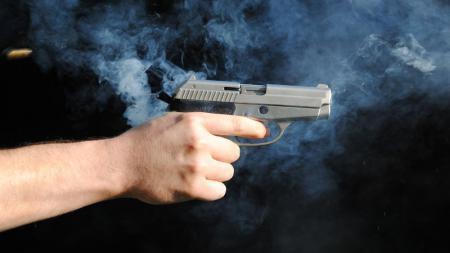 Ilustrasi penembakan. - INDOSPORT
