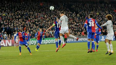 FC Basel vs Manchester United. - INDOSPORT