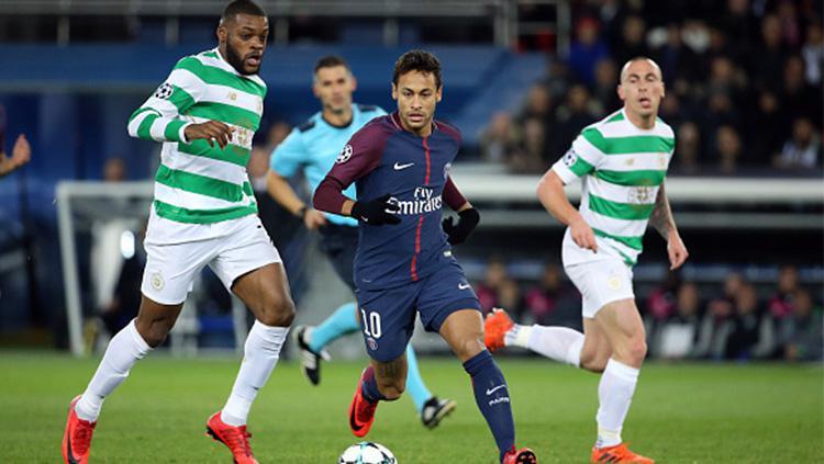 Paris Saint-Germain vs Celtic. Copyright: INDOSPORT