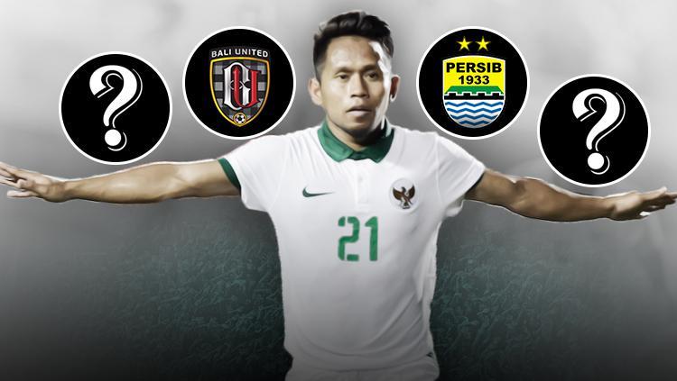Klub pilihan Andik Vermansah untuk musim depan. Copyright: Grafis: Eli Suhaeli/INDOSPORT