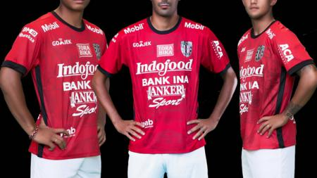 Jersey Bali United Untuk Liga 1 tahun 2017 - INDOSPORT