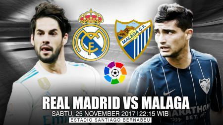 Prediksi Real Madrid vs Malaga. - INDOSPORT