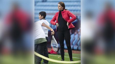 Catherine Middleton di markas klub Aston Villa. - INDOSPORT