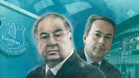 Usmanov dan Moshiri, dua konglomerat yang mendaku pemilik sah Everton - INDOSPORT