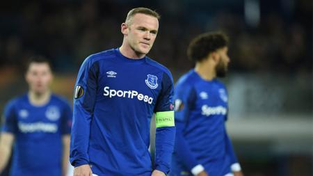 Wayne Rooney dalam laga kontra Atalanta. - INDOSPORT