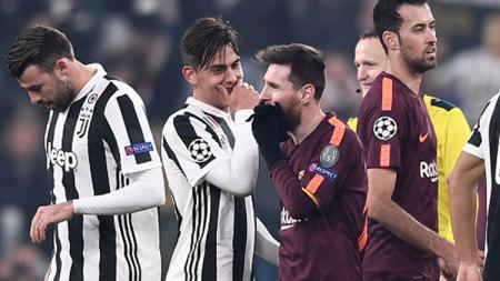 Bakal alami kehancuran karier karena tertutup oleh kegemilangan Lionel Messi di Barcelona, Paulo Dybala malah akan gabung Real Madrid. - INDOSPORT