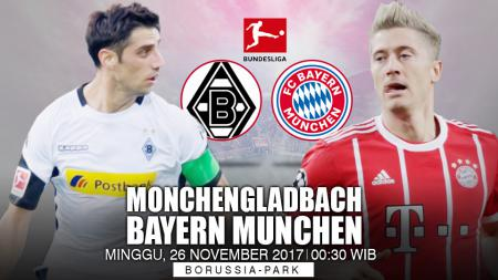 Prediksi Borussia Monchengladbach vs Bayern Munchen. - INDOSPORT