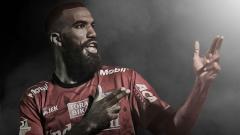 Indosport - Sylvano Comvalius, mantan pemain Bali United yang kini membela Arema FC.
