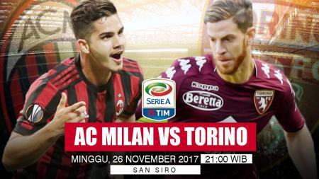 Prediksi AC Milan vs Torino. - INDOSPORT