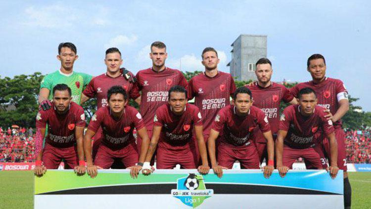 Skuat PSM Makassar. Copyright: Istimewa