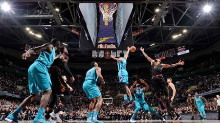 Cleveland Cavaliers vs Charlotte Hornets. - INDOSPORT