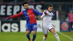 Indosport - Mohamed Salah saat masih berseragam FC Basel.