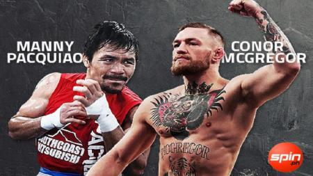 Manny Pacquiao dikabarkan akan menantang juara UFC, Conor McGregor. - INDOSPORT