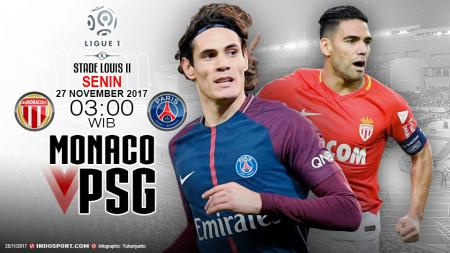 Prediksi AS Monaco vs Paris Saint-Germain - INDOSPORT