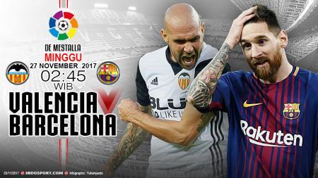 Prediksi Valencia vs Barcelona - INDOSPORT