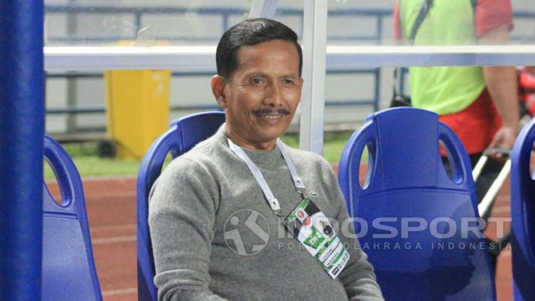 Pelatih PSMS Medan, Djajang Nurdjaman. Copyright: Arif Rahman/Indosport.com