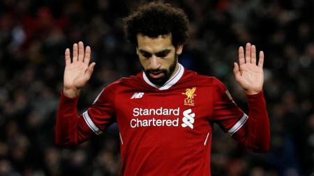 Mohamed Salah enggan merayakan gol ke gawang Chelsea. - INDOSPORT