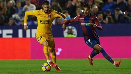 Levante vs Atletico Madrid. - INDOSPORT