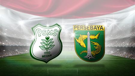Logo PSMS Medan dan Persebaya Surabaya. - INDOSPORT